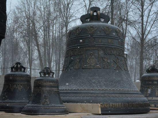Костромской кремль будут венчать 18 колоколов