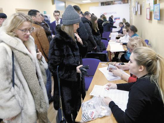 Столичные избиратели пошли на рекорд: на участках выстраивались очереди