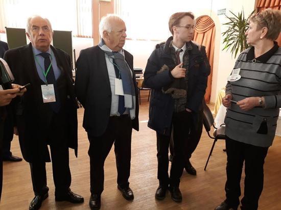 Наблюдатели ОБСЕ контролируют в Калуге выборы Президента РФ