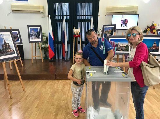 В Израиле состоялись выборы Президента России
