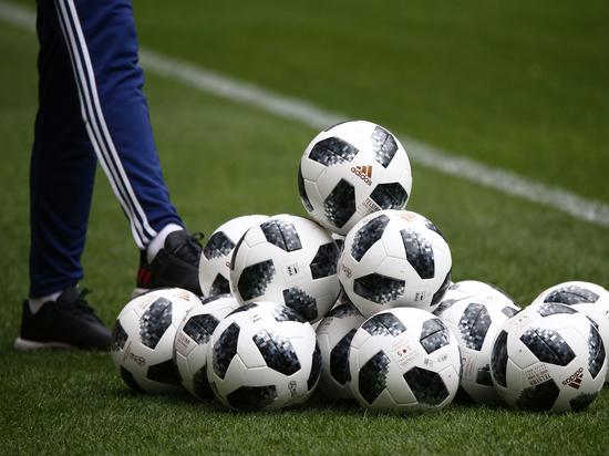 Сборная России по футболу готовиться к матчу с бразильцами