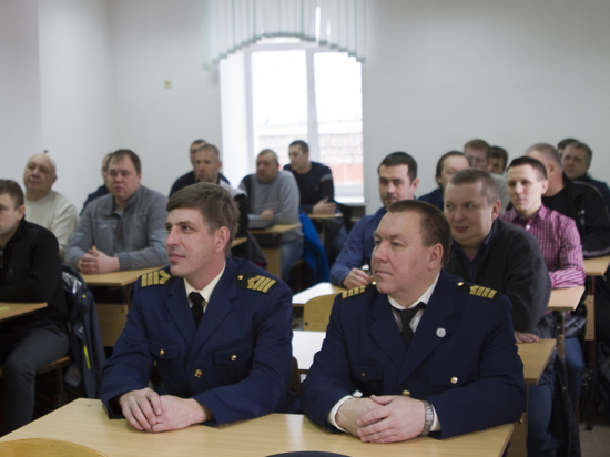 Плавсостав Енисейского речного пароходства повышает квалификацию