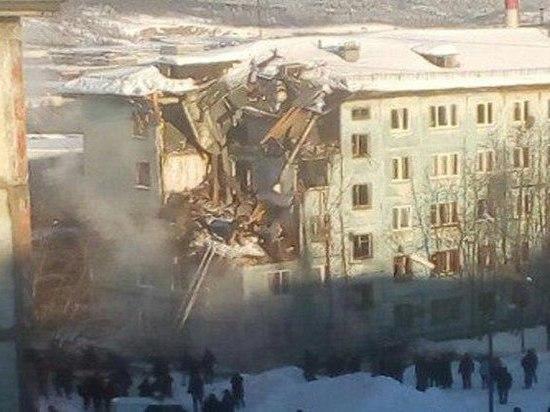 От смертельного взрыва в Мурманске хрущевка рассыпалась, как карточный домик