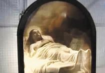 Картина «Христос во гробе» кисти Карла Брюллова уже 16 лет как арестована, будучи изъятой у коллекционеров из Германии Александра и Ирины Певзнер, но сейчас, когда все судебные производства закрыты, шедевр никак не хотят возвращать владельцам