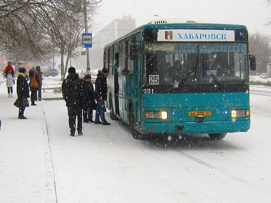 Хабаровчане жалуются на работу общественного транспорта