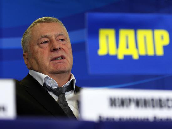 Журналист обвинил Жириновского в сексуальных домогательствах