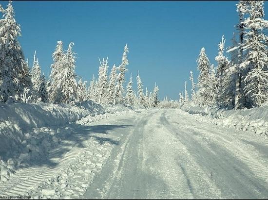 Зимники и ледовые переправы в Архангельской области сохранятся до конца апреля