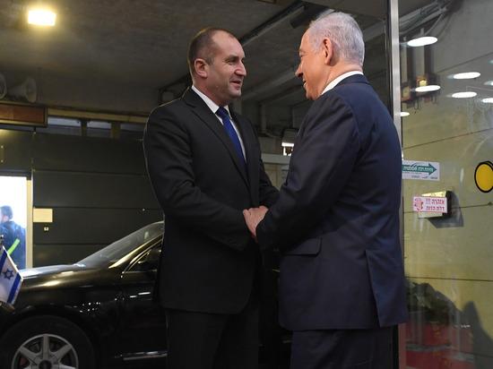 Президент Болгарии находится в Израиле с визитом