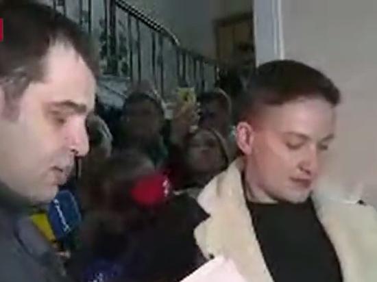 Надежду Савченко арестовали после показа в Раде оперативной съемки заговора