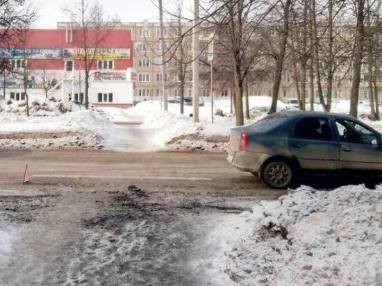 Вечное противостояние водителей и пешеходов: в Иванове на переходе сбили пенсионерку
