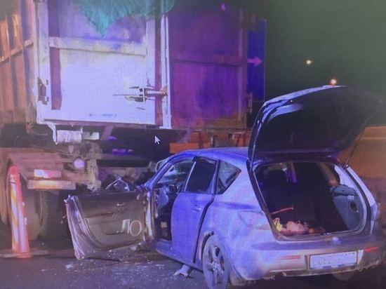 ДТП в Новой Москве: пассажир «Мазды» погиб при столкновении