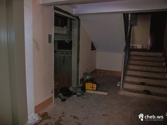 В чебоксарском микрорайоне «Садовый» в шахте лифта нашли труп мужчины