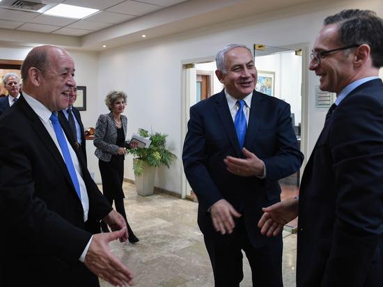 Состоялась встреча премьер-министра Биньямина Нетаниягу с министром иностранных дел Германии Хайко Маасом
