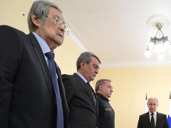 Тулеев извинился перед Путиным за пожар в Кемерово: