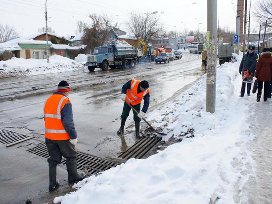 Талым водам в Костроме объявили бой