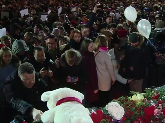 Стихийный митинг на Пушкинской памяти жертв Кемерово собрал тысячи людей