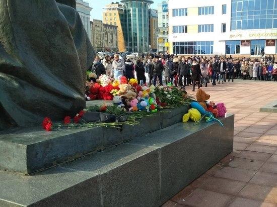 В Саранске почтить память погибших в Кемерово можно будет возле часовни Александра Невского
