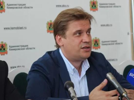 Замгубернатора Кемеровской области Зеленина сняли с должности