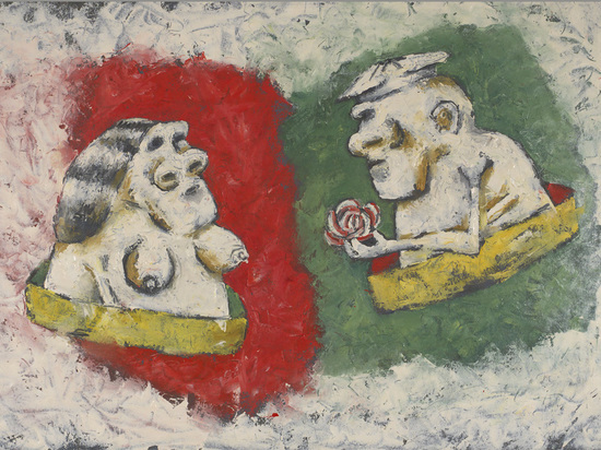Художник Аркадий Петров представил неожиданную экспозицию в галерее ARTSTORY