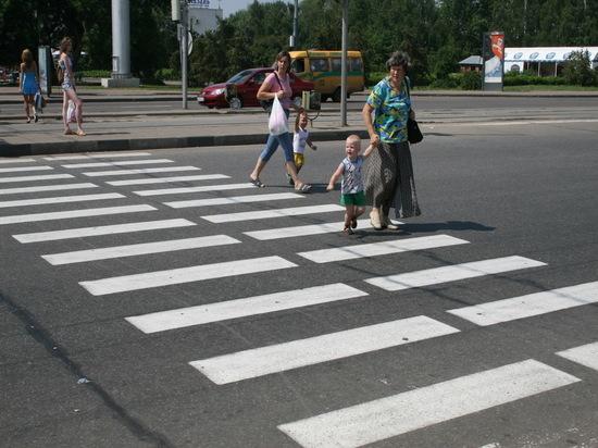 В Саранске сегодня ГИБДД проведет операцию «Пешеходный переход»