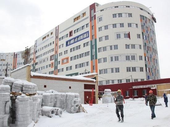 Строительство перинатального центра вСургуте вышло на финишную прямую