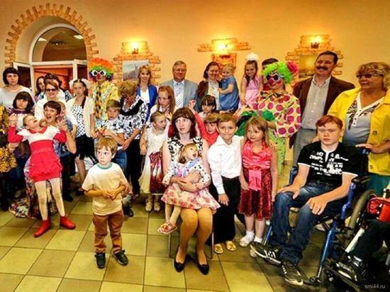 Костромское землячество в Москве помогло «Детям-ангелам»