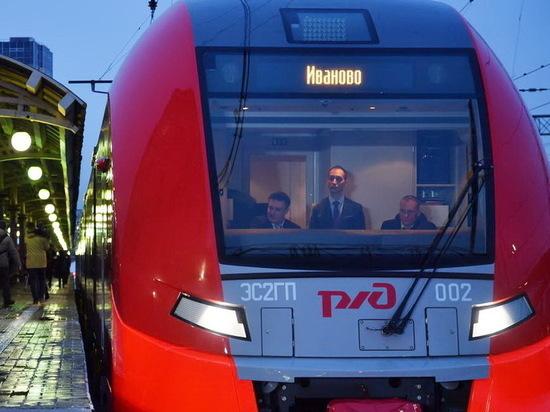 Популярность поездов «Ласточка» у ивановцев огромная, они заполнены почти на 100%