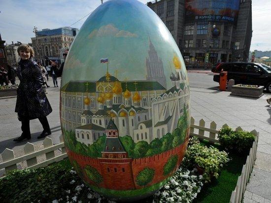 Стало известно, как перекроют московские улицы на Пасху