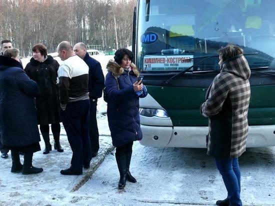 В Костроме открыли международный автобусный маршрут до Кишинева