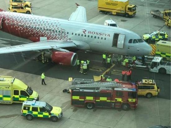 В Лондоне «Мурманск» покалечил авиатехника