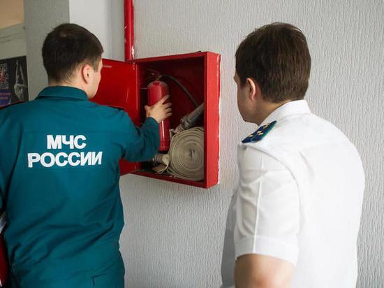 «Огнетушитель пора сдавать в музей»: как проходят проверки в калининградских ТЦ