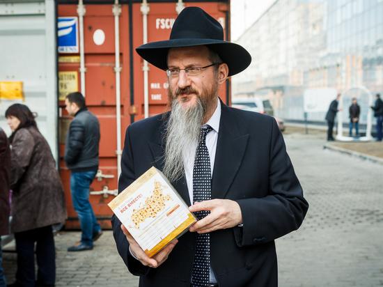 Раввин Берл Лазар поздравил еврейскую общину с Песахом