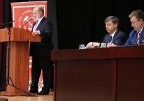 На пленуме КПРФ безусый Грудинин пообещал отрастить шевелюру