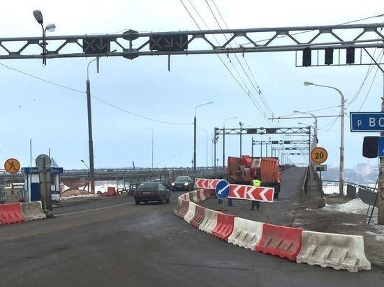 В Костроме закрыли полмоста на капитальный ремонт