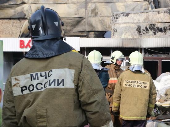 В Мордовии ночью произошло два пожара