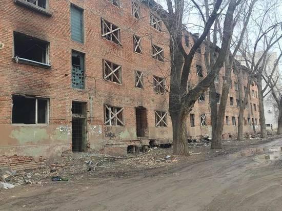 В Астрахани «дом с привидениями» пугает горожан