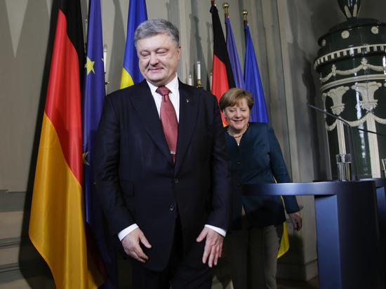 Порошенко: Меркель и Макрон