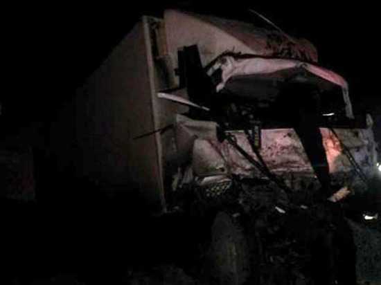 В Чувашии в лобовую столкнулись два грузовика, есть погибший