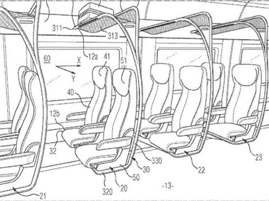 Российские изобретатели придумали сиденья для электричек, похожие на качели
