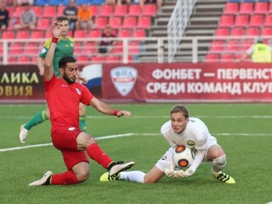 Футболисты «Мордовии» победили на сборах в завершающем контрольном матче