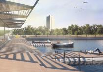 Берега большого пруда в Зеленограде расширят с помощью деревянных настилов