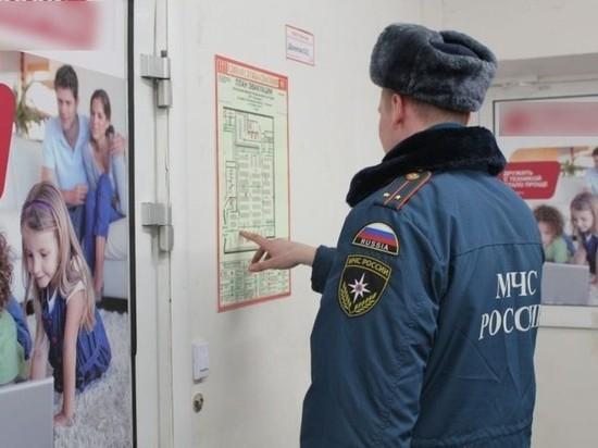 Закрытые пути эвакуации в местах массового пребывания людей обнаружили в Костроме