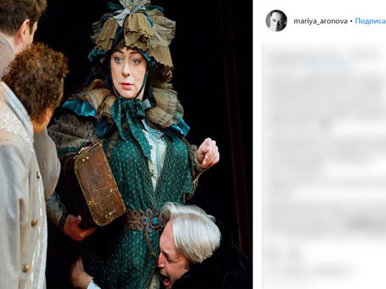 Театральный скандал: Аронова устроила забастовку из-за невыплаченного гонорара