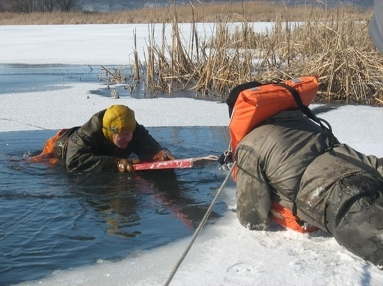 В Ульяновске девятиклассник спас рыбака, упавшего в реку с моста