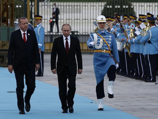 Путин и Эрдоган с помпой запустили строительство АЭС «Аккую»