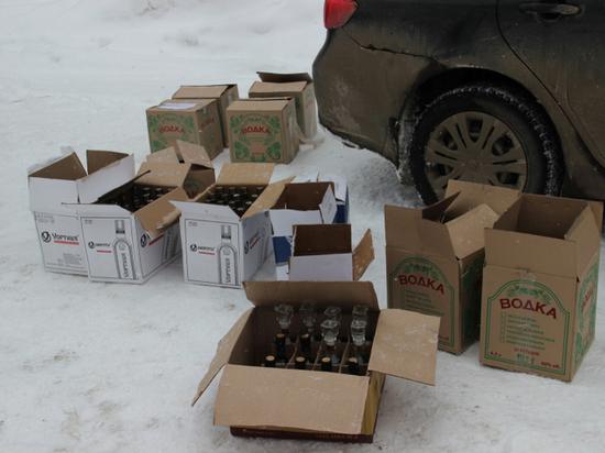 Костромича задержали за торговлю «элитным» алкоголем