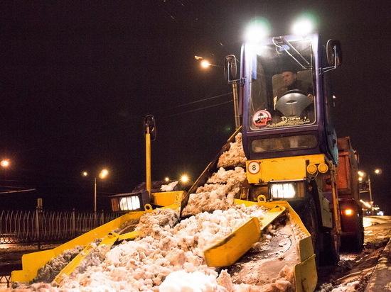 Мэр Саранска Петр Тултаев распорядился активнее вывозить снег