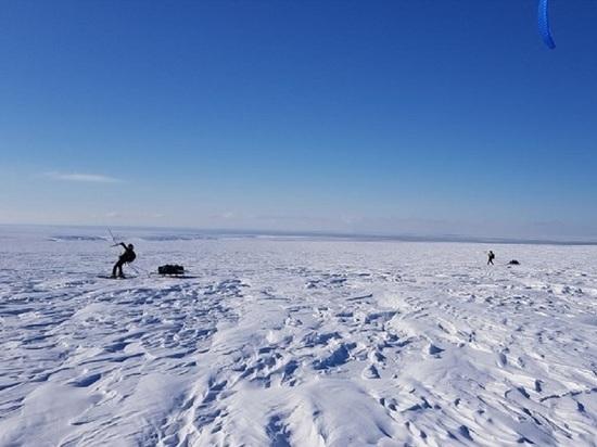 Наперегонки с оленями: русско-норвежская команда прошла от Мезени до Канина Носа