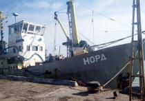 Захваченному Украиной судну «Норд» угрожает пожар, а  морякам - голод