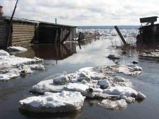 Полые воды залили Сибирь